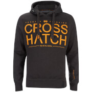 Crosshatch Men's Sevcon Rib Detail Hoody - Charcoal Marl