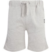 Crosshatch Men's Conserv Jog Shorts - Light Grey Marl