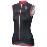 Sportful Women's BodyFit Pro Sleeveless Jersey - Black/Grey/Pink
