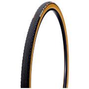 Challenge Almanzo Clincher Gravel Tyre - Black/Tan - 700c x 33mm