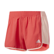 adidas Women's 100 D Woven Shorts - Core Pink