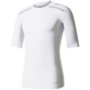 adidas Men's TechFit Climachill T-Shirt - White