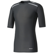 adidas Men's TechFit Climachill T-Shirt - Black