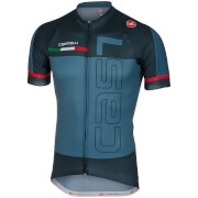 Castelli Spunto Jersey - Saturn Blue/Midnight Navy