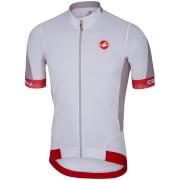 Castelli Volata 2 Jersey - White/Red