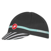 Castelli Free Cycling Cap - Anthracite/Pale Blue - One Size