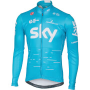 Team Sky Long Sleeve Thermal Jersey - Sky Blue