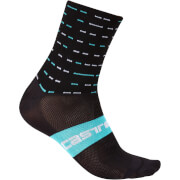 Team Sky Rosso Corsa 10 Socks - Black