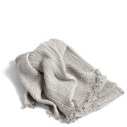 HAY Crinkle Throw - Silver