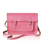 The Cambridge Satchel Company Women's 13 Inch Satchel with Magnetic Closure - Pink