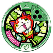 YO-KAI WATCH 2: Fleshy Souls Exclusive Medal