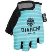 Bianchi Ter Mitts - Green Stripe