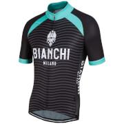 Bianchi Meja Short Sleeve Jersey - Black/Green