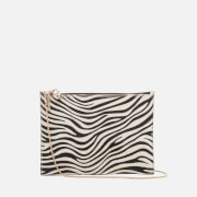 Aspinal of London Women's Soho Pouch - Ivory/Natural