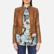 BOSS Orange Women's Janabelle2 Jacket - Light/Pastel Brown