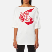 Vivienne Westwood Anglomania Women's Middling Long T-Shirt - White