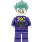THE LEGO® BATMAN MOVIE Joker™ Minifiguren-Uhr mit Wecker