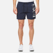 BOSS Men's Octopus Logo Swim Shorts - Blue