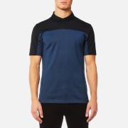 HUGO Men's Domfort Colour Block Polo Shirt - Navy