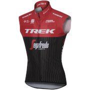 Sportful Trek Segafredo BodyFit Pro Race Wind Gilet - Black/Red/White