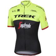 Sportful Trek-Segafredo BodyFit Pro Team Short Sleeve Training Jersey - Black/Yellow/Red