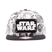 Gorra Star Wars Cómic - Blanco