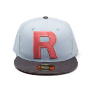 Pokémon Team Rocket Big R Snapback Cap - Blue