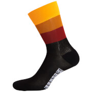 Nalini Blue Socks H19 - Black/Yellow
