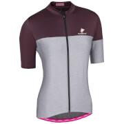 Nalini Women's Hug Short Sleeve Jersey - Purple/Grey