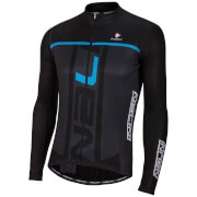 Nalini Speed Long Sleeve Jersey - Black/Blue