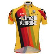 Santini Cinelli Chrome 17 Jersey - Yellow/Black