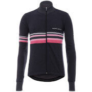 Santini Giro d'Italia 2017 Maglia Nero Long Sleeve Merino Jersey - Black