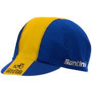 Santini Giro d'Italia 2017 Stage 11 Bartali Race Cap - Blue