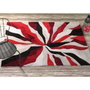 Flair Infinite Splinter Rug - Red