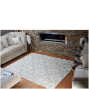 Flair Textures Gold Rug - Impala Grey/Cream