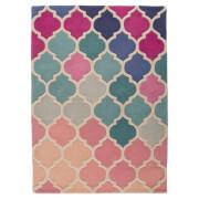 Flair Illusion Rosella Rug - Pink/Blue