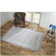 Flair Alpaca Huacaya Rug - Grey