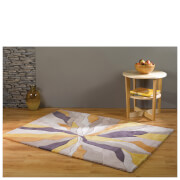 Flair Infinite Splinter Rug - Ochre