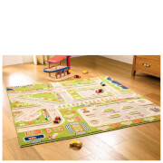 Flair Road Maps Rug - Little Village Multi (133X133)