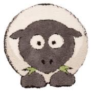 Flair Plush Animals Rug - Sybil Sheep Grey (80X80)
