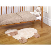 Flair Nursery Little Lamb Rug - Natural (75X80)
