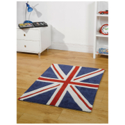 Tapis Flair Kiddy Play Rugs - Union Jack, Drapeau Royaume-Uni (70X100)