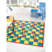 Flair Matrix Kiddy Rug - Snake And Ladder Multi (133X133)
