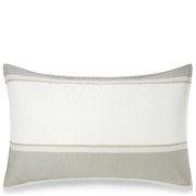 Calvin Klein Banded Net Cream Pillowcase