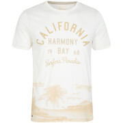 Camiseta Tokyo Laundry Norton Cove - Hombre - Blanco marfil