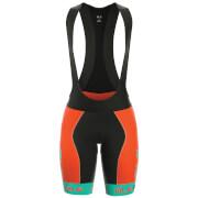 Alé Women's Graphics PRR Bermuda Bib Shorts - Turquoise
