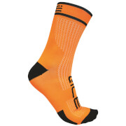 Alé Power 15cm Cuff Cycling Socks - Orange/Black