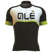 Alé Excel Veloce Jersey - Black/Yellow