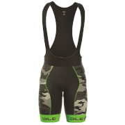 Alé PRR 2.0 Camo Bib Shorts - Black/Green