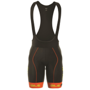 Alé PRR 2.0 Bermuda Bib Shorts - Black/Orange